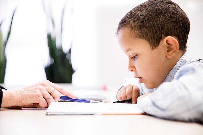 dyslexie schrijfoefeningen bij kinderen